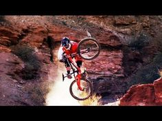 Meanwhile, in a dry corner of Utah, this happened. HOLY WTF! Red Bull Rampage