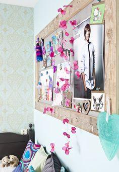 Tienerkamer zelfmaakideeën | DIY's #teen room