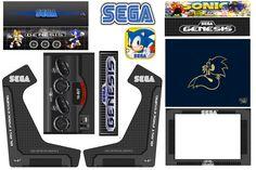 Imagen Sega Genesis, Bartop Arcade, Anime Furry, Retro, Arcade Games, Jukebox, Science Fiction, Movie Tv, Video Games