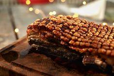 Langtidsstekt ribbe med garantert sprø svor! Steak, Beef, Food, Ribe, Meat, Essen, Steaks, Meals, Yemek