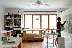 Raising the Roofbeams in Williamsburg - NYTimes