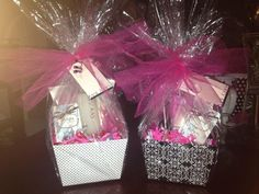 Mary Kay Mothers day baskets