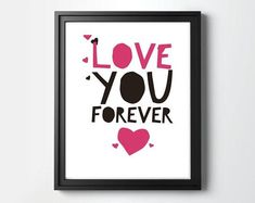 I Love You Quotes, Love Yourself Quotes, Create T Shirt, Online Print Shop, Love You Forever, Heart Art, Nursery Wall Art, Printable Wall Art, Photo Props