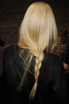 LE FASHION BLOG HAIR MESSY BRAIDS RAG BONE FW 2011 BLONDE 5 photo LEFASHIONBLOGHAIRMESSYBRAIDSRAGBONEFW2011BLONDE5.png