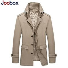 JOOBOX Brand 2017 New Arrival Spring Autumn Casual Single Breasted Blazer Men Suits Fashion Solid Jacket Linen and Cotton Coats