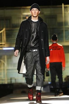 #Menswear #Trends Dsquared2 Menswear Fall Winter 2014 Otoño Invierno #Trends #Moda Hombre