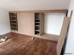 1000 ideas about meuble sous pente on pinterest placard sous pente dressi - Fabriquer placard sous pente de toit ...