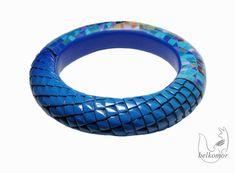 polymerclayfimo - Textura escamas de dragón