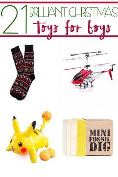 21 Brilliant Christmas Toys for Boys