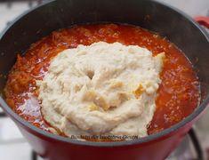 Zacusca de fasole boabe - Bunătăți din bucătăria Gicuței Pickling Cucumbers, Pickles, Mashed Potatoes, Cooking, Ethnic Recipes, Food, Canning, Whipped Potatoes, Cucina