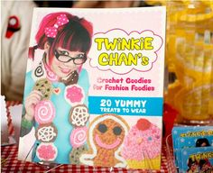 Twinkie Chan's Crochet Goodies for Fashion Foodies book of patterns. $14.99, via Etsy.