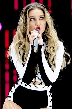 """appreciatetommo: """" Perrie performing at the Summertime Ball 2016 """""""