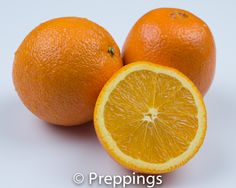 Orange :: Search by flavors, find similar varieties and discover new uses for ingredients @ preppings.com