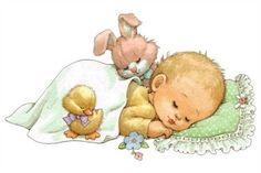 Varieté de Láminas para Decoupage: Láminas para bebés