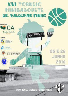 Minibasquete do Olivais Coimbra: XVI Torneio de Minibasquete Dr. Valdemar Pinho