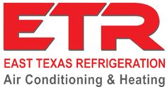 http://www.easttexasrefrigeration.com/products ETR Air Conditioning & Heating logo