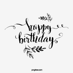 Happy Birthday In Handwritten English Happy Birthday Font, Happy Birthday Calligraphy, Bff Birthday Gift, Birthday Letters, Happy Birthday Balloons, Modern Calligraphy Quotes, Bullet Journal Banner, Birthday Wishes Messages, Hand Lettering Alphabet