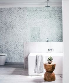 Mermaid tile fever over here at Barnaby Lane. have out-done themselves with this cutee of a bathroom 👌 Bathroom Layout, Bathroom Inspiration, Bathroom Decor, Interior, Beautiful Bathrooms, Three Birds Renovations, House, Laundry In Bathroom, Bathroom