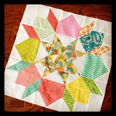Swoon block for Faith @freshlemons! #TravelingQuilts by j_q_adams, via Flickr