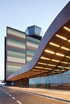 Aeroport de Lleida-Alguaire, Spain - b720 Fermín Vázquez Arquitectos (2010) - Serves regional and charter airlines.