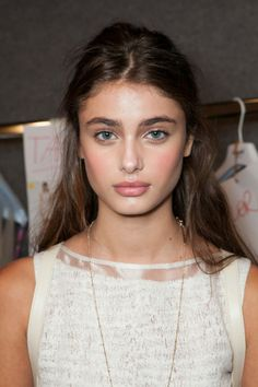 mulberry-cookies:  Taylor Hill Backstage @ Blugirl by Blumarine S/S 2013