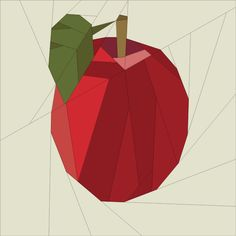 Apple pattern on Craftsy.com