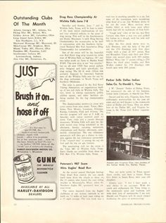 1958 Jimmie Parker, Dallas Texas, Sells Indian Sales Co. to Harold Yaw Article Vintage Magazines, Vintage Ads, East Northport, Vintage Indian Motorcycles, Wichita Falls, Atlanta Georgia, Dallas Texas, Best Dad, Articles