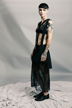 Check out Justin Coit's latest shoot with Ruby Rose for Byrdie.