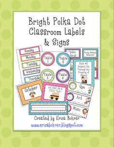 Erica's Ed-Ventures: Polka Dot Galore!!!