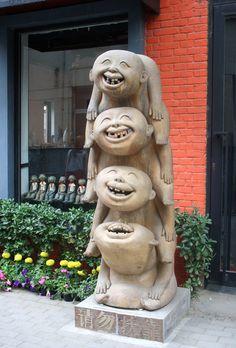 Sculpture at 798 Art District, Beijing
