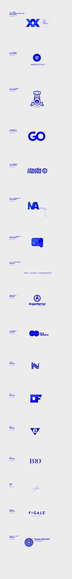 Logos / by Nicolás Vasino, via Behance