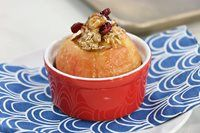 Eva Chung: Fashion and Food for Life Baked Apple Dessert, Apple Dessert Recipes, Baked Oats, Baked Apples, Healthy Baking, Healthy Snacks, Vegan Vegetarian, Deserts, Brunch