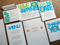 Printable Complete Wedding Invitation Kit  Love Joy by empapers, $149.00