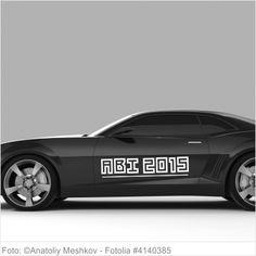 Autoaufkleber und Sticker ABI 2015 digital Style