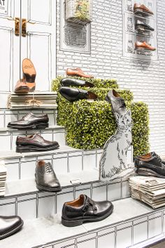 Clarks | Autumn/Winter, 2013 by Millington Associates | #windowdisplay #visualmerchandising