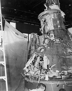 MA-1 Capsule Reassembled After Explosion