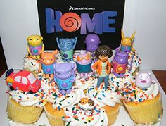 Dreamworks Home Figure Set of 13 Deluxe Cake Toppers / Large Cupcake Decorations / Party Favors featuring Oh, Tip, Pig, Space Car, Baby Boov and More! Home Movie http://www.amazon.com/dp/B00TNGZBY2/ref=cm_sw_r_pi_dp_.4.Ovb1DVPK65