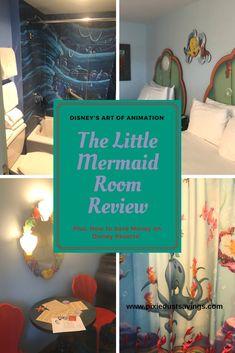 Art of Animation Resort Disney World Vacation Planning, Disneyland Vacation, Disney World Florida, Florida Vacation, Art Of Animation Rooms, Disney Art Of Animation, Mermaid Hotel, Mermaid Disney, Disney World Tips And Tricks