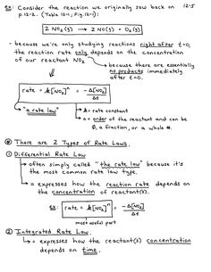 Chemical kinetics lecture notes pdf