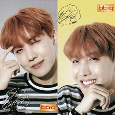 J-Hope❤ BTS x BBQ Limited Photocards #BTS #방탄소년단