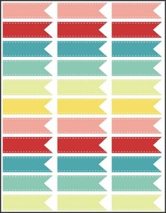 2.83 x 1 Free Printable Labels - 33 per sheet