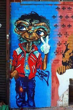 ET Michael Jackson Street Art