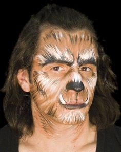 into the woods wolf makeup - Google Search