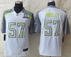 b2d7d8bef5d Nike Ravens C. Mosley White Pro Bowl Men s Stitched NFL Elite Team Carter  Jersey And nfl jersey maker history