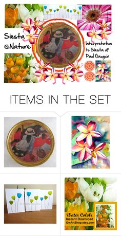 Siesta @Nature by owlartshop on Polyvore featuring art, TintegrityT and EtsySpecialT