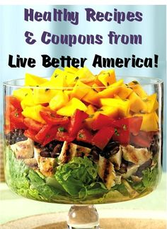 Live Better America Healthy Coupons and Recipes! {by General Mills}
