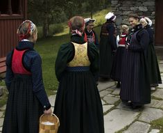 Bunad frå Indre Sogn Folk Costume, Costumes, Pilgrimage, Norway, All Things, Scandinavian, Beauty, Dresses, Fashion