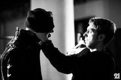 Backstage at Boris Bidjan Saberi, Fall/Winter 2014/2015 | Paris