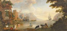 Landscape with Rape of Europa, Hendrik van Minderhout.