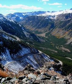 Charles Kurault called the Beartooth Highway 'the most beautiful highway in America'.  The Montana side of the Beartooth Highway...